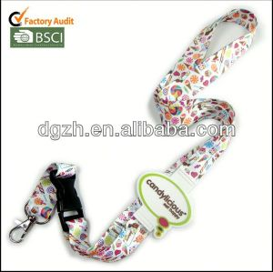 Customzied silikon-logo lanyard