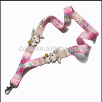 moda carino chiave cordino con logo carino