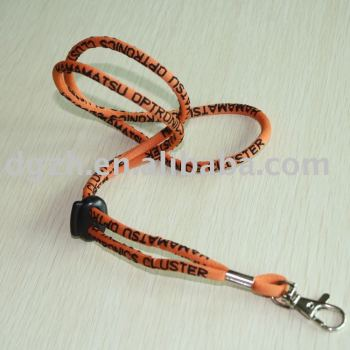 Redondo cordones, Divertido cordón, Titular de la tarjeta de la correa del cuello