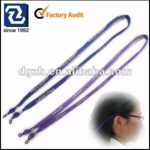 Cordones para gafas titular, Poliéster cuello correas porta para lentes