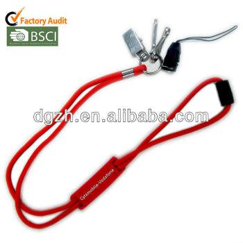 Redondo cordones para la tarjeta y soporte para teléfono
