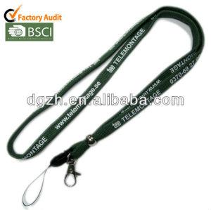 Confortable à porter lanière tubulaire pour Flashdrives et autres objet personnel