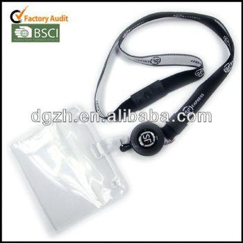 Retráctil cordón para el cuello