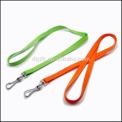 Mode cordons colorés en polyester avec custom design