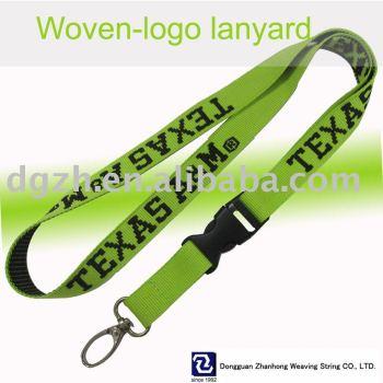 Poliéster tejido - la cuerda de seguridad logo
