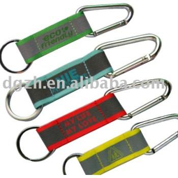 Reflejan cordones cortos, Customers' corto cordón con carabine