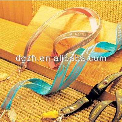 hals lanyards mit reflektierende riemen