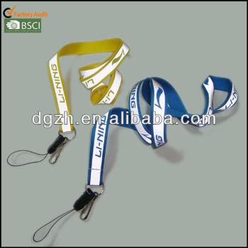 cordini rifrangenti di seta con stampa logo