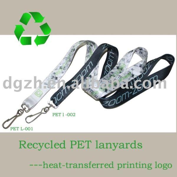 recycling lanyards