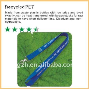 Freundliche lanyard, recycelten pet-lanyard für Unternehmen