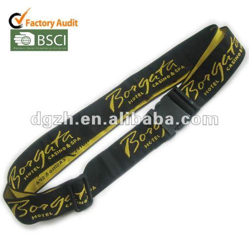 Zubehör für gepäck riemen, polyester gewebt logo tasche riemen