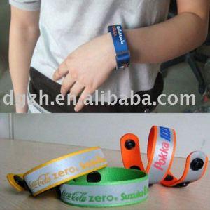 Reflektierendes Armband, Art und Weisearmband