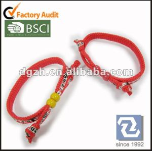 Gewebe wrisbands, Druck-Polyester-Armbänder