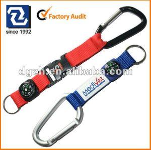 Fashoion Schlüsselkette, kurzes keychain mit Kompaß