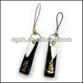 moda pvc cinghia del telefono mobile per il regalo