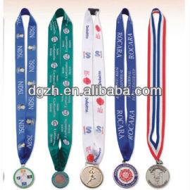 Medaille mit lanyards/medaille inhaber riemen