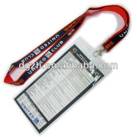 Porta badge collo cordini, titolare della carta di cinghie per regali aziendali