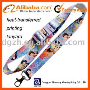 Wärme - transterred gedruckt lanyard