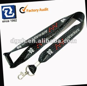 Sublimation polyester lanyards, olympischen hals lanyards