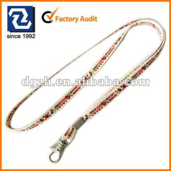 Cinturino bello, sublimazione cordini tubolare