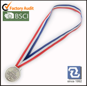 Medal holder lanyards with fashion logo for match