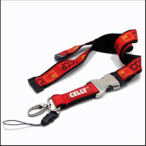 高质量织唛证件挂绳手机吊带