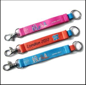奥运会礼品短带客人订制钥匙短带