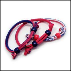 定制电脑提花图案圆绳手腕装饰礼品绳