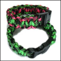 纯手工编织定制多色手腕装饰礼品绳