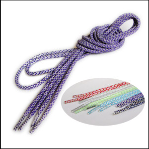 Reflective shoelaces for sport shoe