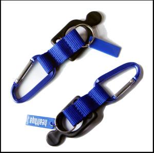 爬山钩硅胶圈个性水壶圈短带