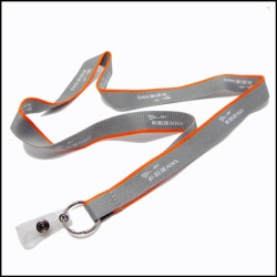 公司员工证挂绳工作证胸卡双色挂带