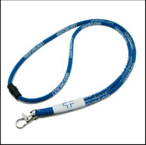 机织客人图标圆绳安会扣脖子挂绳