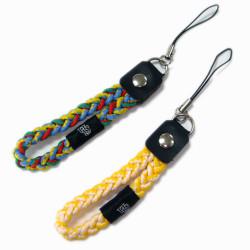 布标图案编织弹力绳手机挂带礼品赠品挂饰