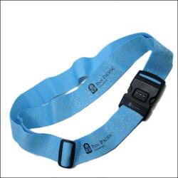 可定制丝印图案密码锁箱包带 旅行包加固带