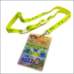 迪士尼卡通图案卡套证件套胸卡挂绳