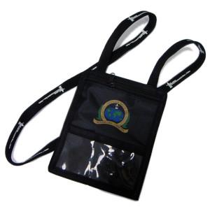 多功能证件卡包尼龙护照袋聚酯脖子挂绳