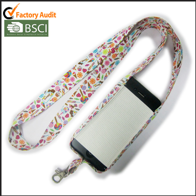 Dye Sublimation Print On Both Sides Neck Lanyards With