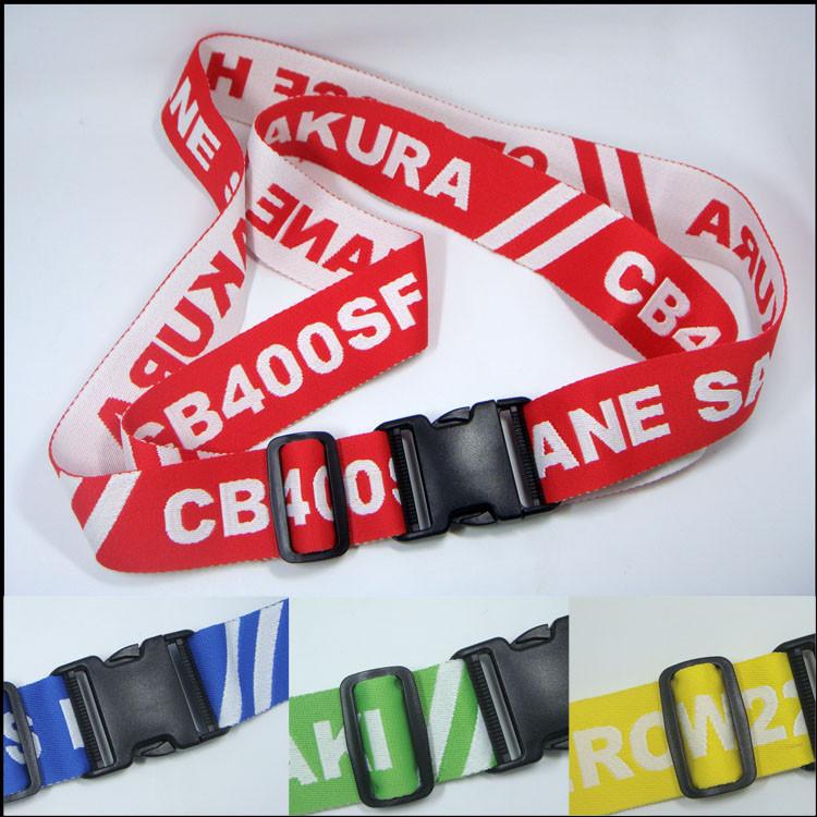 custom logo polyesterv bag strap