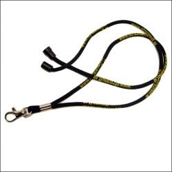 提花图案圆形绳索挂绳