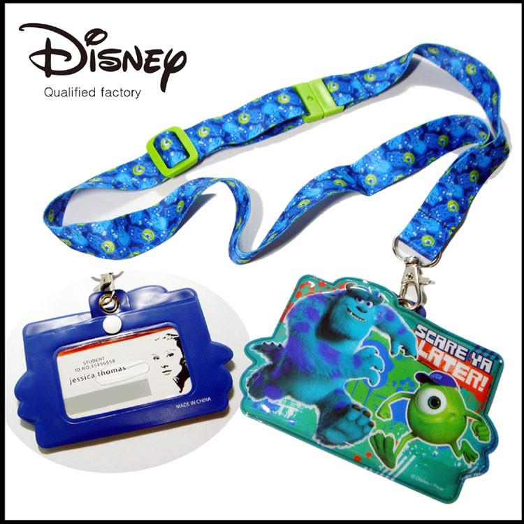 迪士尼图案证件套挂带