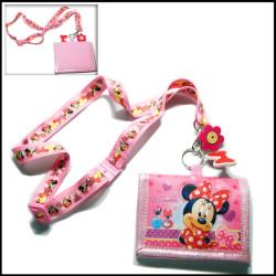 迪士尼卡通证件卡套热转印挂绳