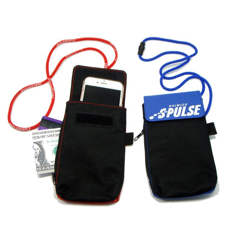 cell phone holder bag neck lanyards