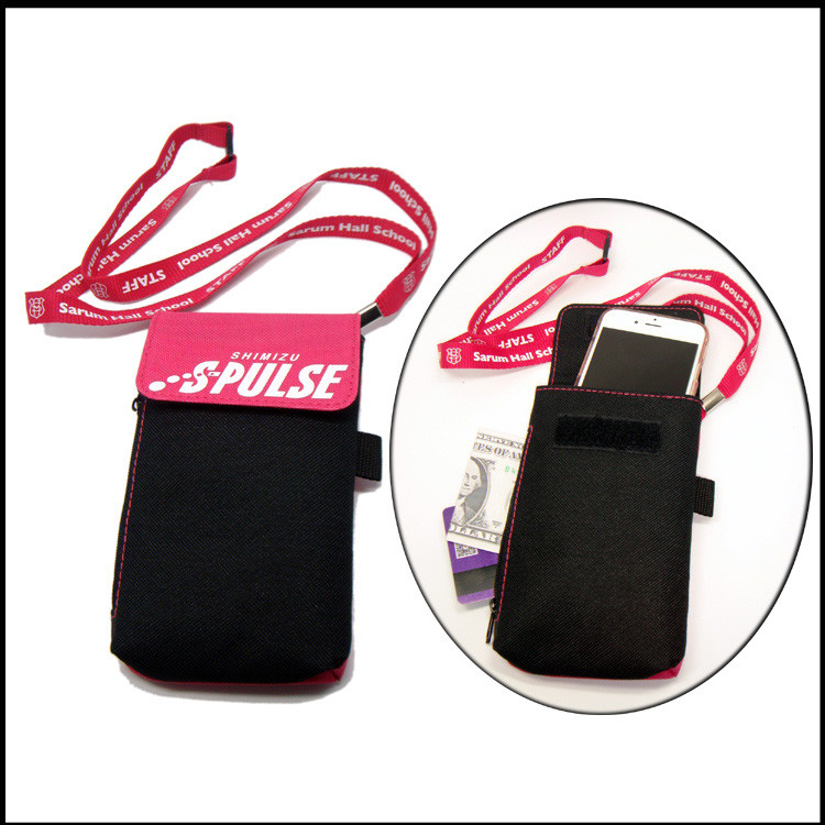 cell phone holder lanyards for promotional gift