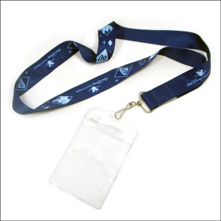 热转印挂带配透明PVC卡套