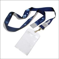 热转印挂带透明PVC证件套