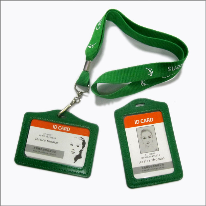neck lanyards with ID card bag