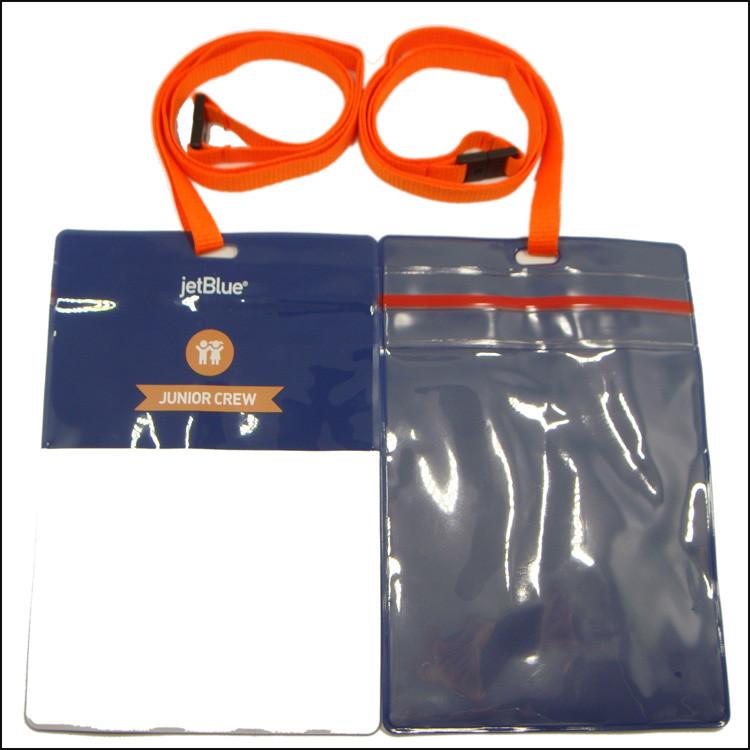 PVC证件套挂绳