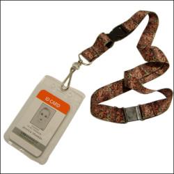 热转印挂带透明ID卡证件套