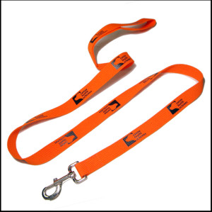 桔色加厚狗狗牵引绳栓狗绳遛狗器宠物带